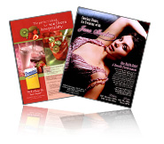 print design - ads, brochures, tri folds, menus, packaging, booth graphics, posters